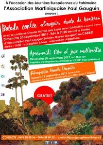affiche JEP Gauguin