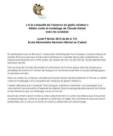 CP Atelier Claude Hamel