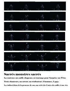 Sacrés monstres sacrés présentation 2