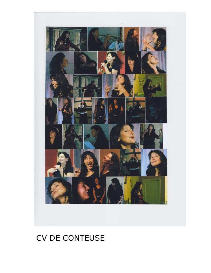 CV Artiste de Claude Hamel CONTEUSE