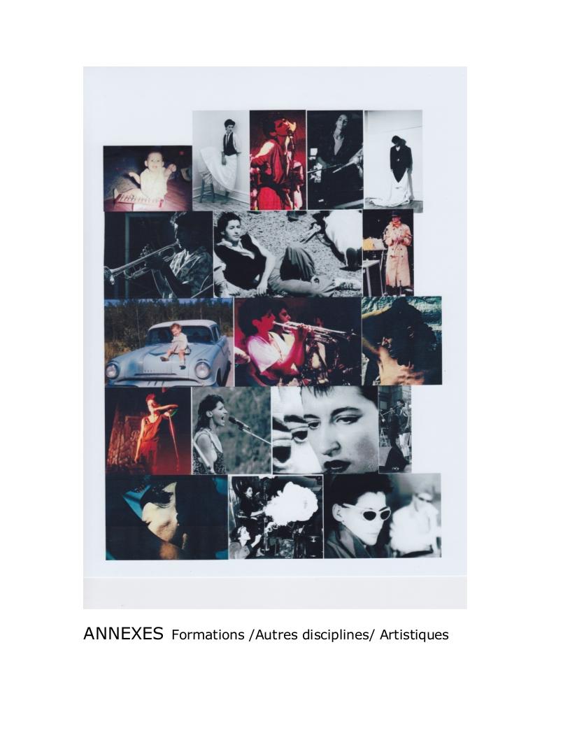 CV Artistique et formations Annexe_001