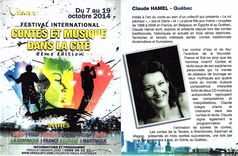 Festival Contes et musique dans la cité Martinique 2014